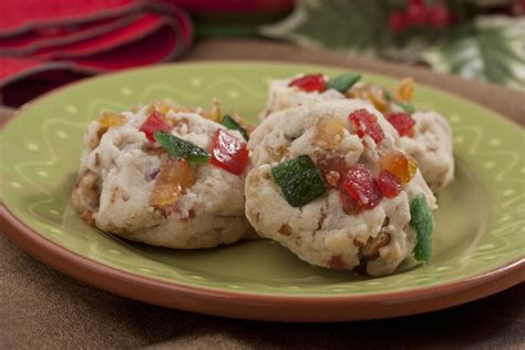 fruit cake cookie recipe fruitcake cookies mrfood