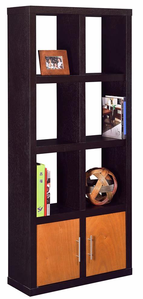 librero de nichos ag muebles librero nichos 2 puertas
