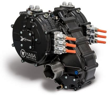 YASA Limited » YASA e motor with lightweight gearbox