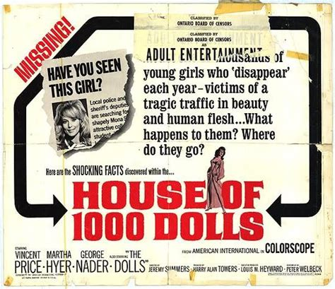 house of 1000 dolls house of 1 000 dolls 1967 download movie