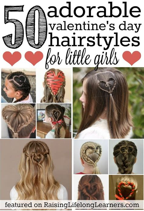 valentines day hairstyles 50 adorable s day hairstyles for easy