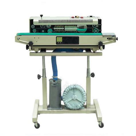 Fr 900f Floor Type Continuous Band Sealer Machine air suction vertical continuous vacuum band sealer lf1080a