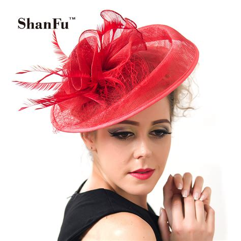 shanfu sinamay wedding fascinator hats