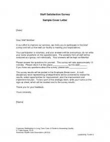 Survey Cover Letter Sle by Sle Survey Cover Letter The Best Letter Sle