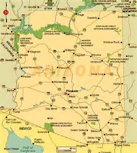 map arizona cities arizona towns pictures to pin on pinsdaddy