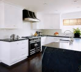 Black And White Kitchen by Black And White Kitchens Ideas Photos Inspirations