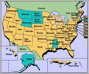 i m looking for a simple map of the united states of