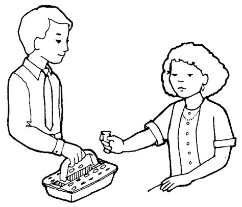 coloring pages lds sacrament lds clipart missionary cliparts co