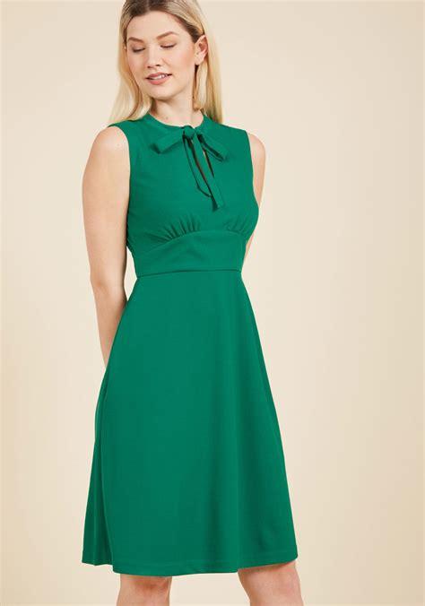 Dress Lime archival arrival a line dress modcloth