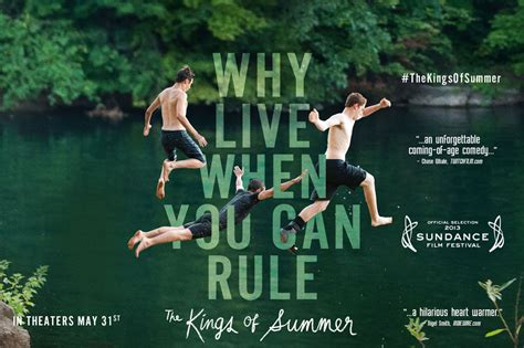 kings of summer lessons from the kings of summer jeezuswords
