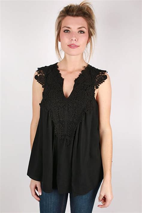Karpet Top Black Sun sweet sun kissed top in black impressions boutique
