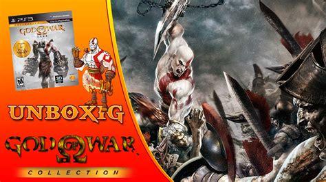 Ps3 God Of War Saga unboxing god of war saga collection ps3 pt br