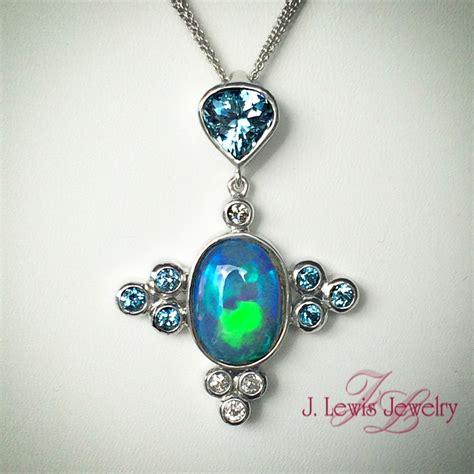 custom australian opal pendant j lewis jewelry custom