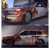 Rusty Camouflage Vinyl  Rust &amp Patina Wrap