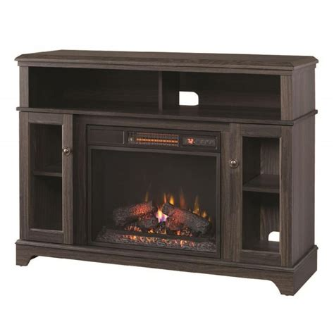 electric fireplace tv stand home depot home decorators collection ravensdale 48 in media console
