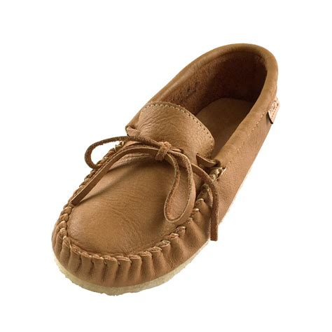 mens leather soled slippers s crepe sole genuine cork moose hide leather