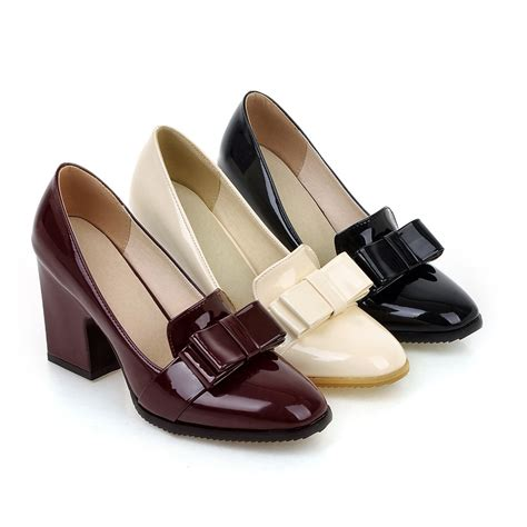 high heels pumps shop big size leather high heels pumps shoes for