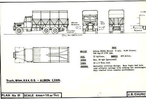 truck cer floor plans albion gs truck plans militaryimages net