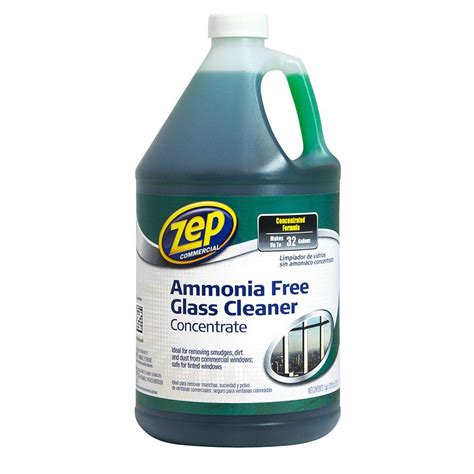 zep 128 oz ammonia free glass cleaner concentrate