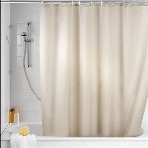 Mold Curtains 180x180cm waterproof shower curtain mold resistant plain