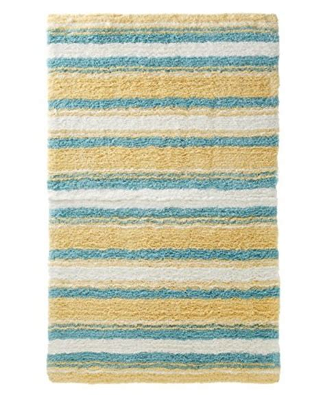 Bahama Bath Rug by Bahama Breezeway Palm Breakfast Pillow White 15 X