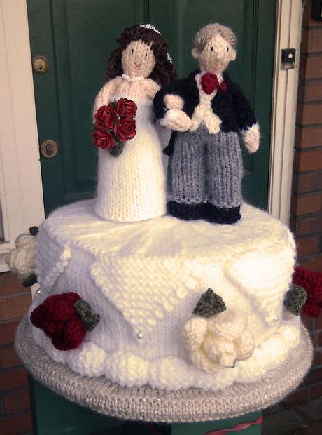 knitted wedding cake 简体中文