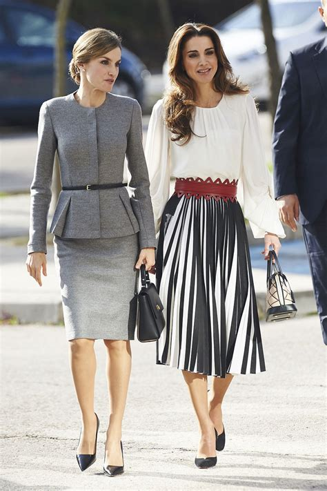 Quen Shop Heels Agrafina 2 letizia and rania and more stylish royals who
