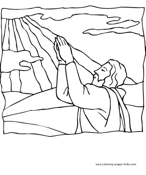 god coloring sheets coloring pages