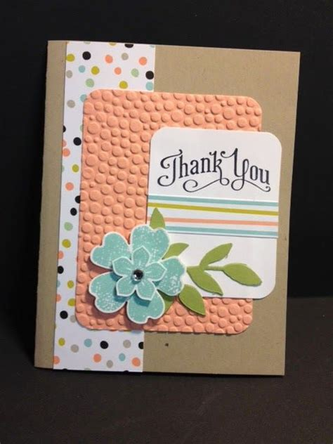Ideas For Handmade Thank You Cards - 25 best ideas about handmade thank you cards on