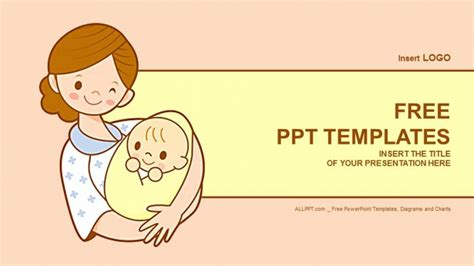 powerpoint templates free download newborn free baby powerpoint templates ba powerpoint template