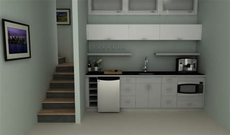 Affordable Custom Kitchen Cabinets budget solutions an ikea basement kitchenette