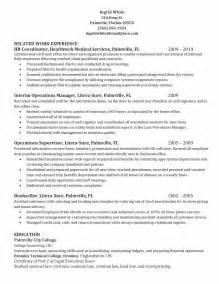 hr coordinator resume template sle hr coordinator resume