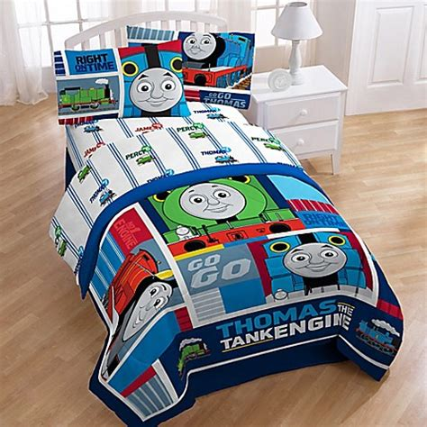 thomas the train bed set thomas the train printed character sheet set bed bath
