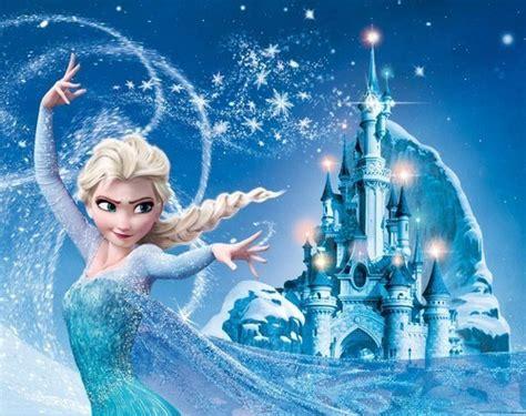 Wall Showcase by Fanpop Frozen Elsa S Photo Elsa And Castle