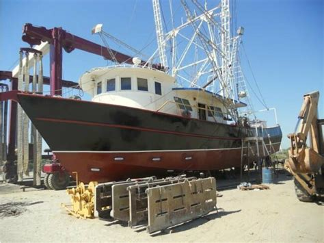 wooden shrimp boats for sale 1983 shrimp boat powerboat for sale in louisiana