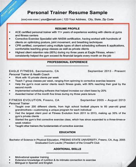 write  summary  qualifications resume companion