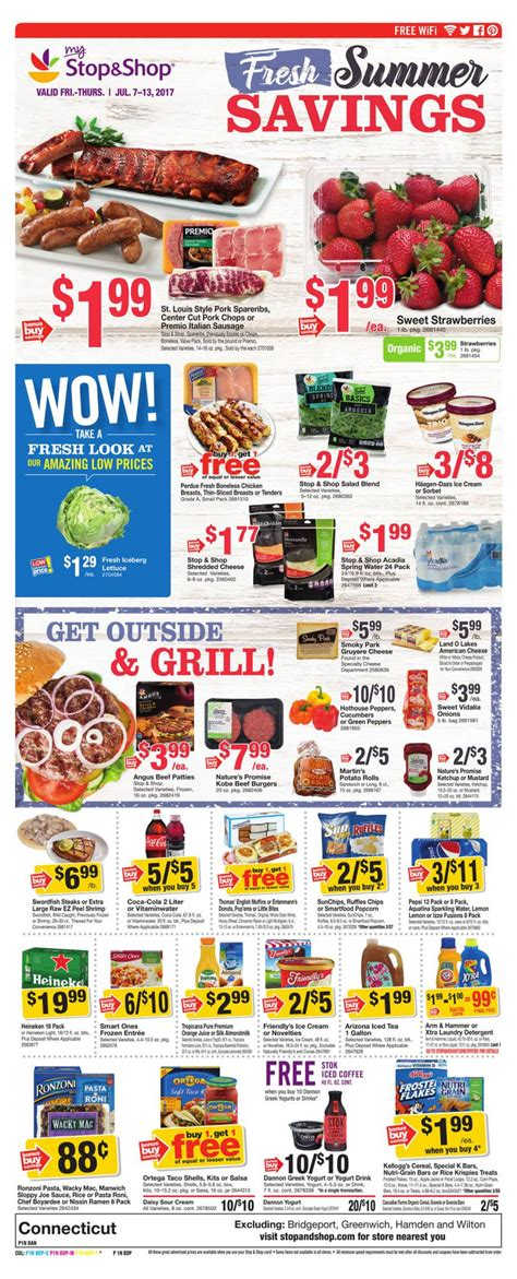 stop shop weekly ad circular jul    promogrocery