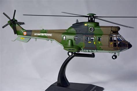 Jual Sho Metal Bandung jual aerospatiale as332 diecast helicopter ixo