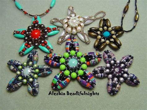 Paper Bead - paper bead starfish pendant or ornament tutorial