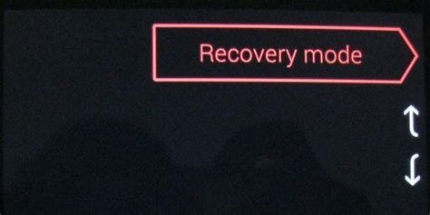 android recovery mode how to factory reset your android phone or tablet when it won t boot