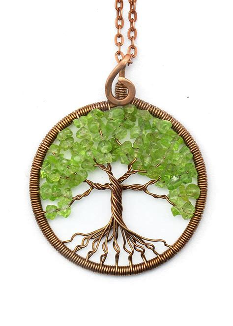 tree of necklace pendant tree of jewelry family