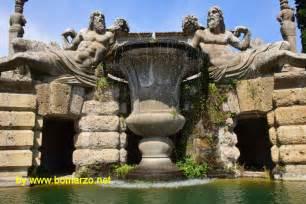 bicchieri giganti palazzo farnese a caprarola la fontana bicchiere o