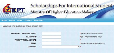 Mba Scholarships For Russian Students by Government Of Malaysia International Scholarships Mis At
