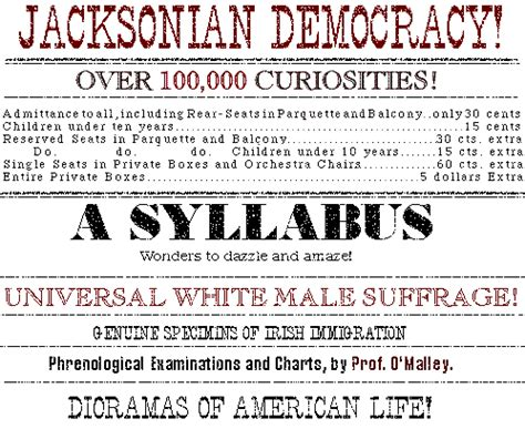Jacksonian Democracy Essay by Andrew Jackson Quot History During The 1800s Quot