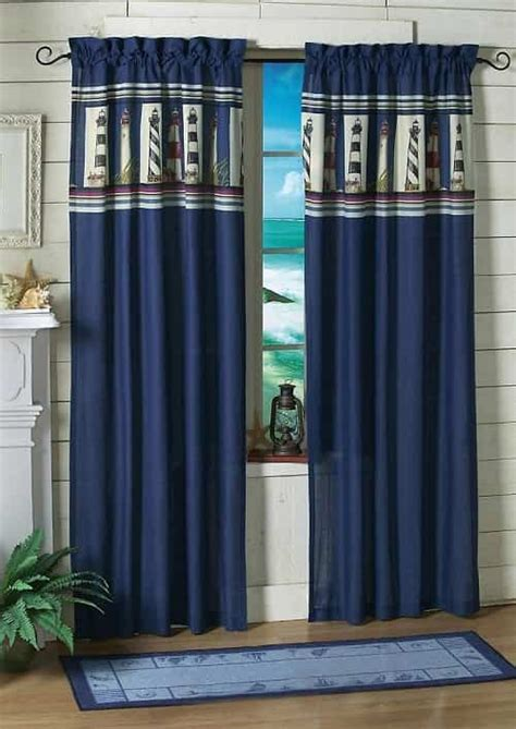 coastal kitchen curtains 10 attractive coastal kitchen curtains 33 00