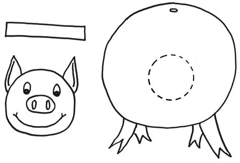 pig template for preschoolers preschool programs chapter tslac