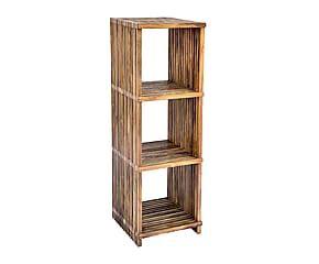 scaffali in legno grezzo dalani scaffale in legno grezzo dettaglio rustico e country