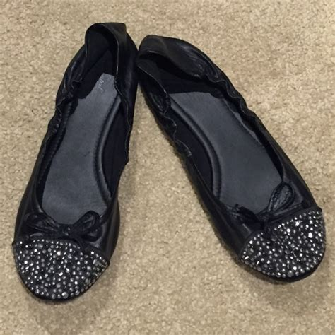 wanted shoes flats 46 wanted shoes wanted sparkling black flats from