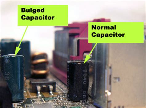 problems on capacitor troubleshooting laptop motherboard and cpu problems laptopmd