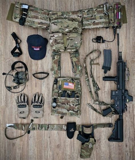 combat gear list looks like a ranger stalker load out but most likely just